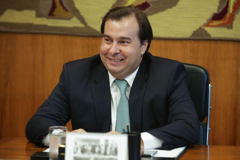 Rodrigo Maia é um bom nome para comandar a Câmara, afirma Mourão. Crédito: Fabio Rodrigues Pozzebom/Agência Brasil