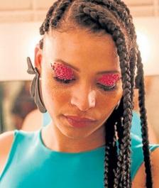 Franciele Vieira de Freitas, 26 anos, Integrante da banda Melanina MCs