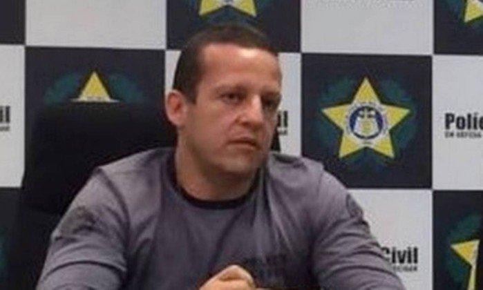 O delegado Marcelo Luiz Santos Martins