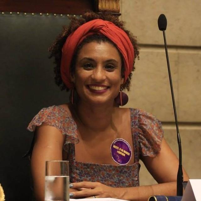 Marielle Franco, vereadora assassinada na última quarta-feira (14) no Rio de Janeiro. Crédito: Reprodução/Facebook