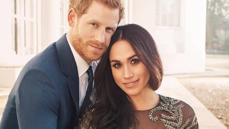 Príncipe Harry e Meghan Markle se casam em maio deste ano. Crédito:  Alexi Lubomirski/Kesington Palace