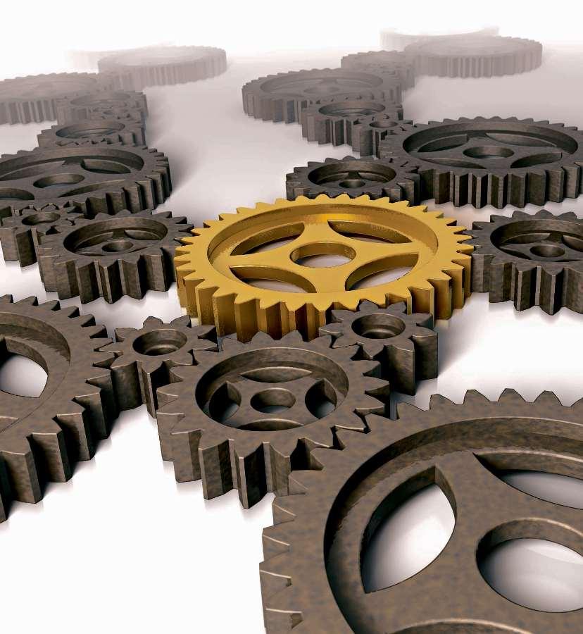 Engrenagem: estruturas de sites são moldadas para enganar leitor. Crédito: Reprodução