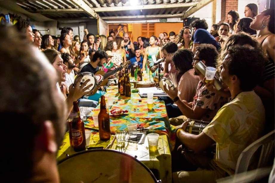Regional da Nair é conhecida por rodas de samba animadas pela Capital. Crédito: Paulo Lana/Reprodução Facebook