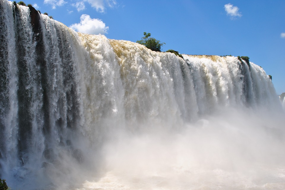 Cascata de Foz do Iguaçu. Crédito: Reprodução/Pixabay