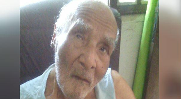 O idoso Faustino Reis, de 104 anos, esperou por oito dias uma vaga em uma UTI do Estado. Crédito: Arquivo Pessoal