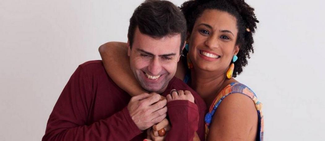 Marcelo Freixo e Marielle Franco. Crédito: Reprodução/Facebook