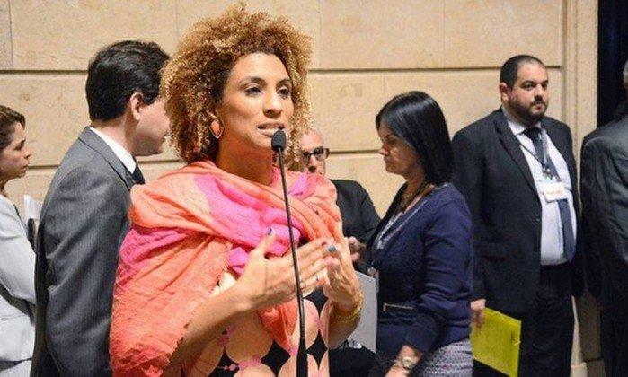 Vereadora Marielle Franco (PSOL) no plenário da Câmara. Crédito: Divulgação