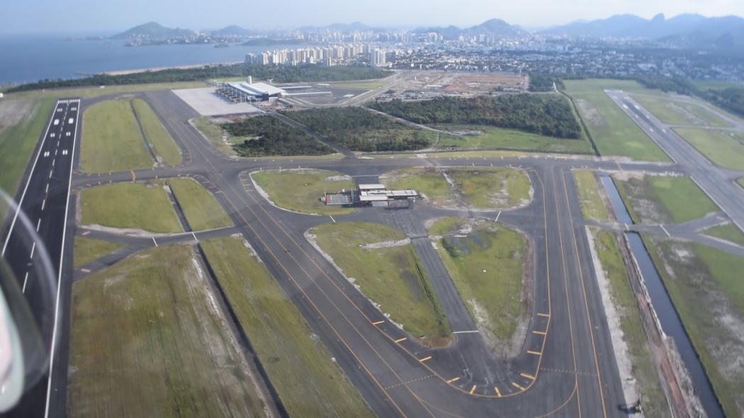 Aeroporto de Vitória. Crédito: Reprodução