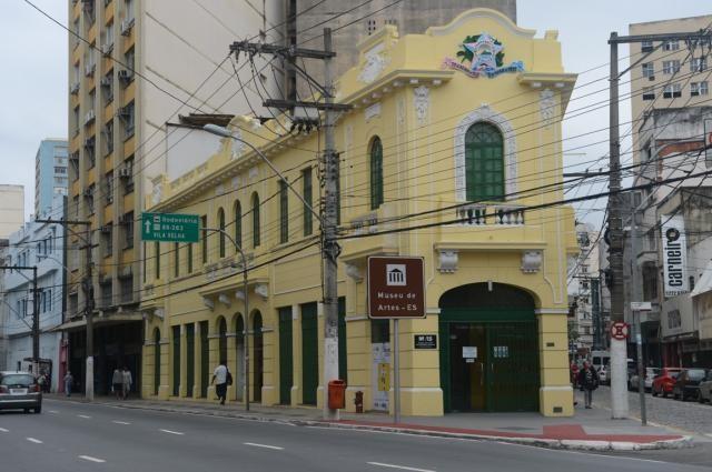 Museu de Arte do Espírito Santo (Maes), no Centro de Vitória. Crédito: Divulgação/Secult