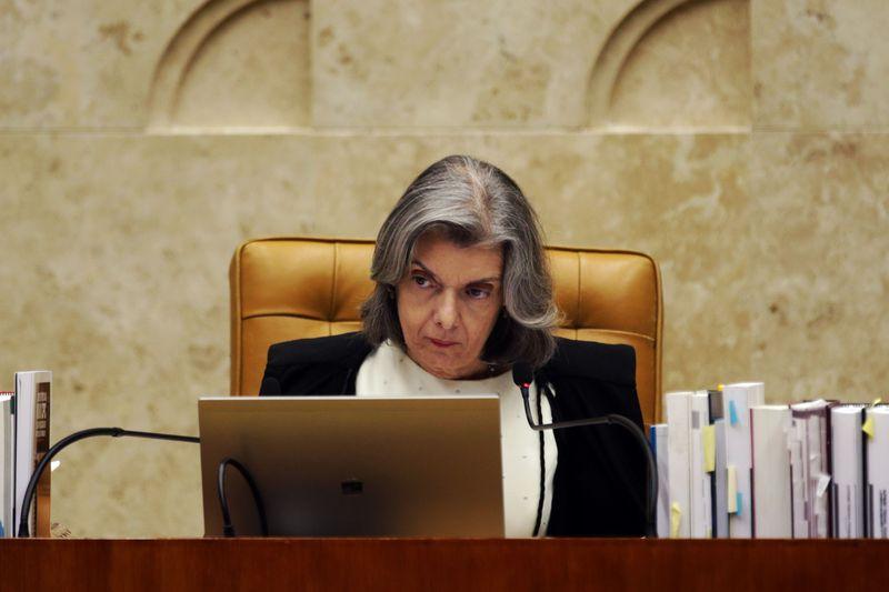 Brasília - A presidente do STF, Cármen Lúcia. Crédito: Antonio Cruz/Agência Brasil