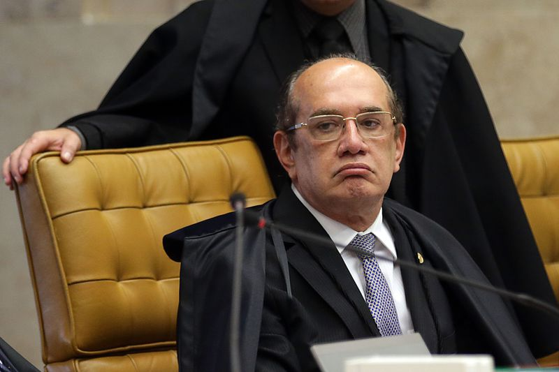 A prisão foi determinada pelo juiz da 7ª Vara Federal do Rio de Janeiro, Marcelo Bretas, alvo de constantes críticas do ministro. Crédito: Antonio Cruz/Agência Brasil