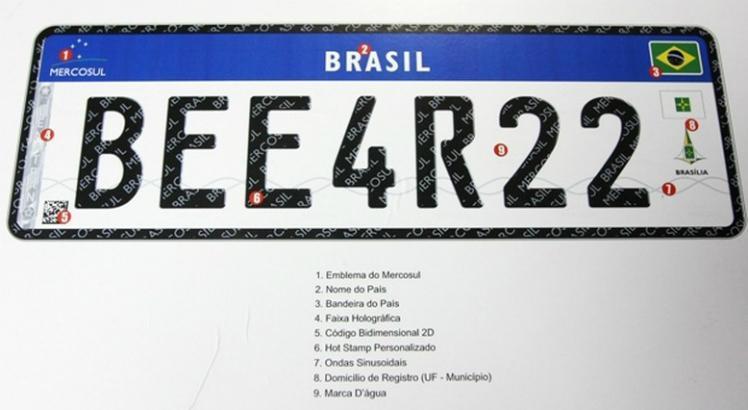 Contran suspende resolução que cria a placa padrão Mercosul no Brasil