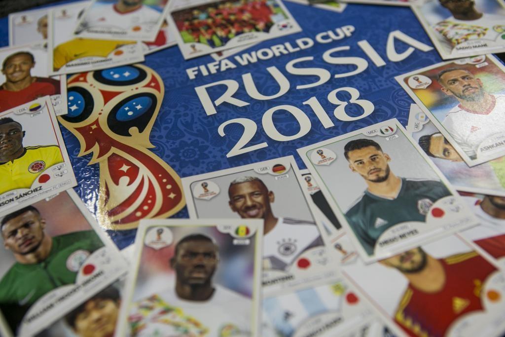 Álbum da Copa do Mundo da Rússia segue fazendo sucesso no Brasil. Crédito: Panini