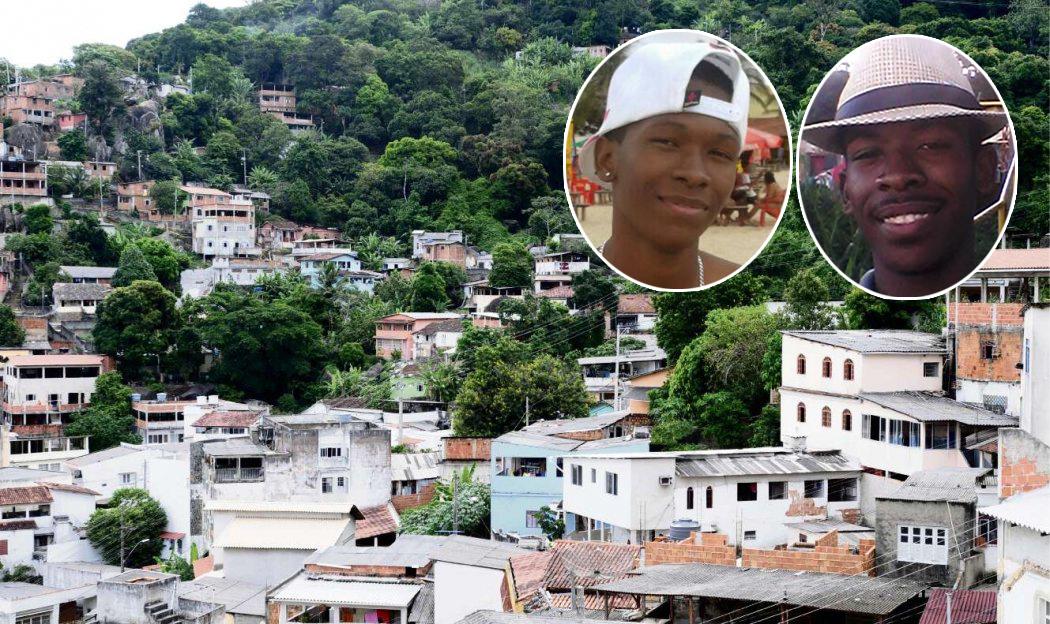 Ruan Reis (à esquerda) e Damião Reis (à direita): irmãos mortos na madrugada deste domingo com mais de 20 tiros cada. Crédito: Reprodução/Facebook