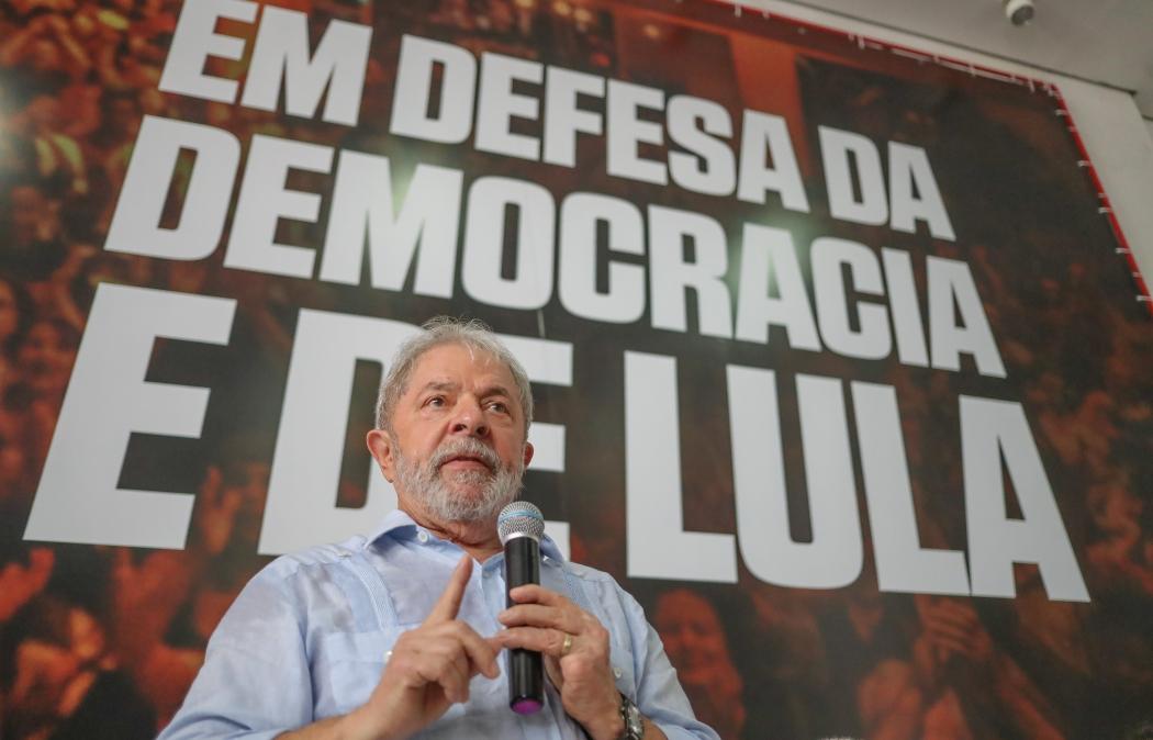 Luiz Inácio Lula da Silva, ex-presidente da República. Crédito: Ricardo Stuckert