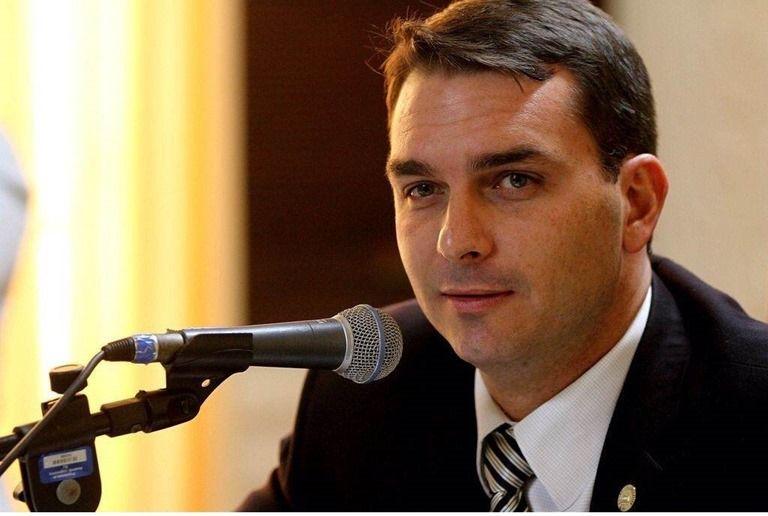 Flavio Bolsonaro. Crédito: Revista Forum