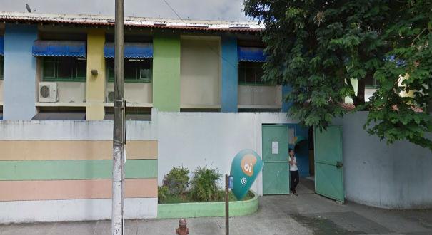 A escola Padre Anchieta, localizada em Vitória, também está em greve. Crédito: Google Maps | Reprodução