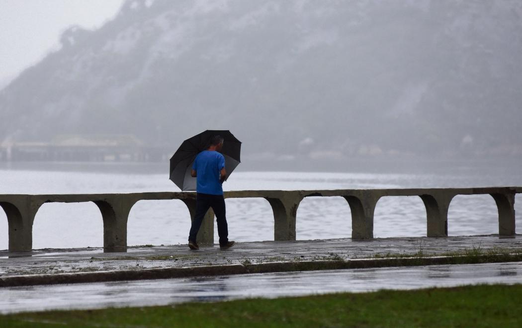 Vento forte e chuva podem chegar no início da semana. Crédito: Fernando Madeira
