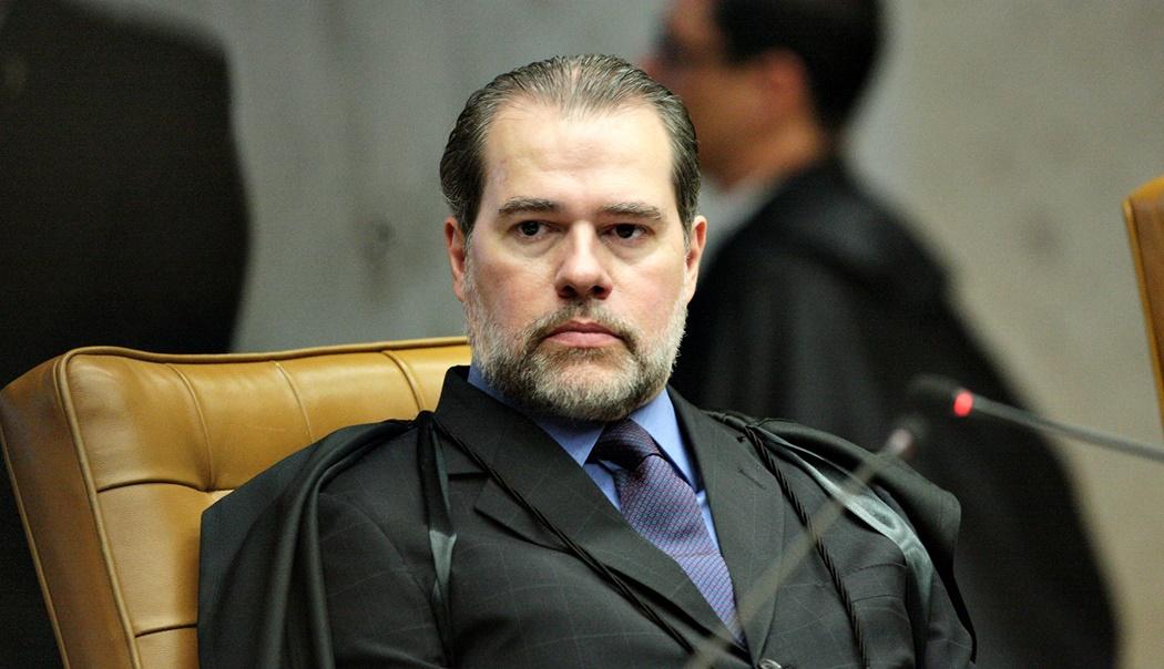 O ministro Dias Toffoli, que pediu vista no julgamento do foro privilegiado em novembro. Crédito: Carlos Moura / SCO / STF