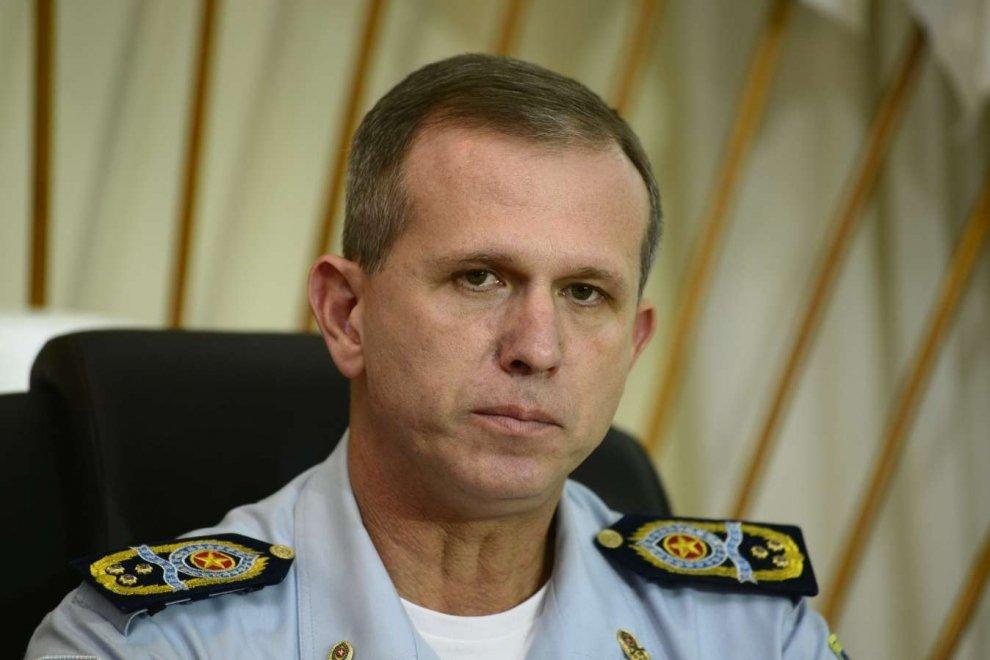 Coronel Nylton Rodrigues, comandante-geral da PM: acompanhando com mais cuidado os movimentos no ES após a ordem de prisão contra Lula . Crédito: Gazeta Online