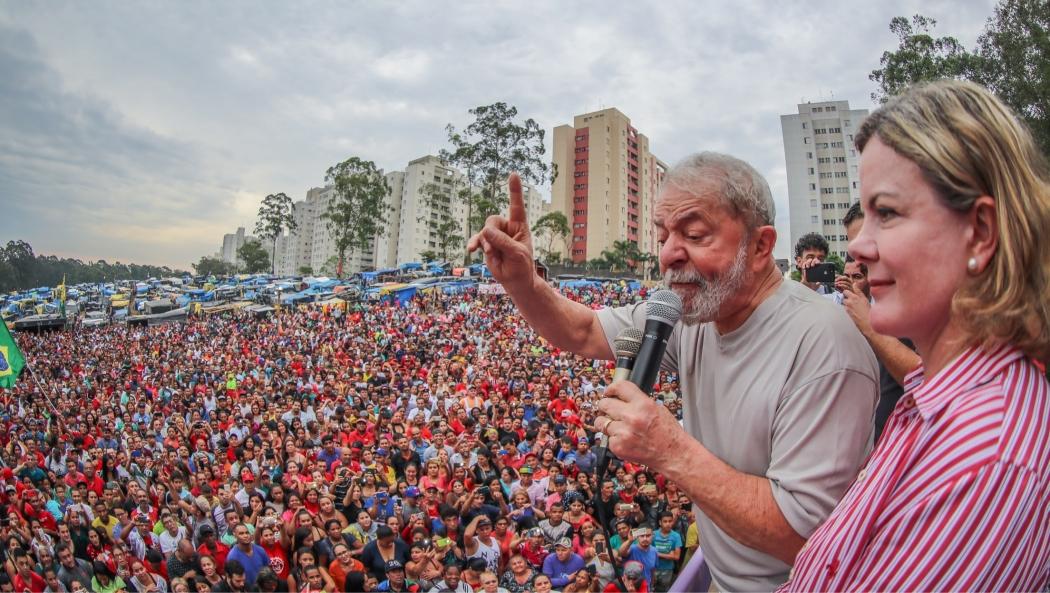 Lula e Gleisi Hoffmann. Crédito: Divulgação   Instituto Lula