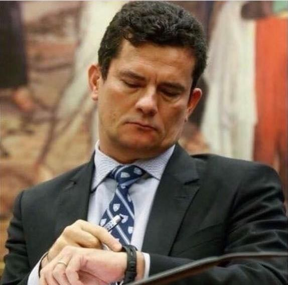 O juiz Sergio Moro. Crédito: Reprodução