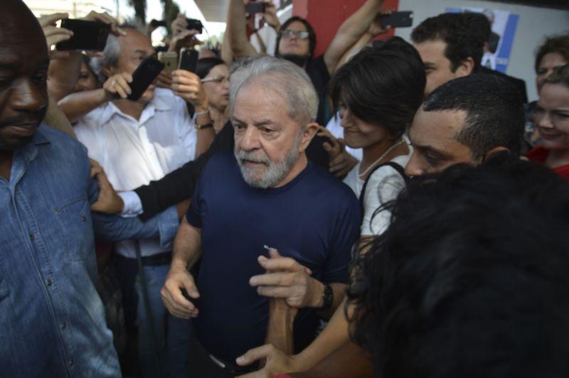 O ex-presidente Lula . Crédito: Rovena Rosa/Agência Brasil
