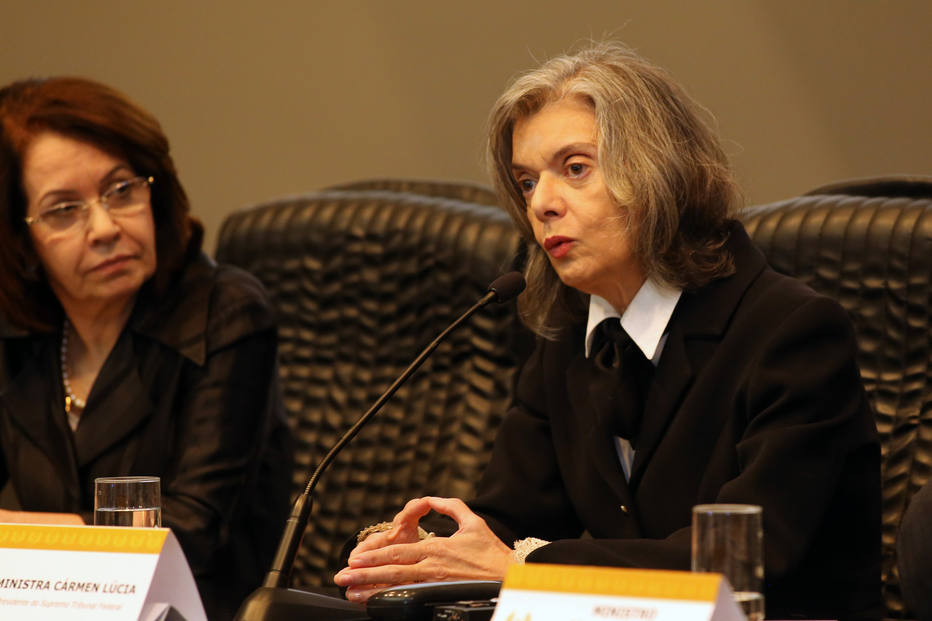 Cármen Lúcia assumirá presidência na próxima sexta