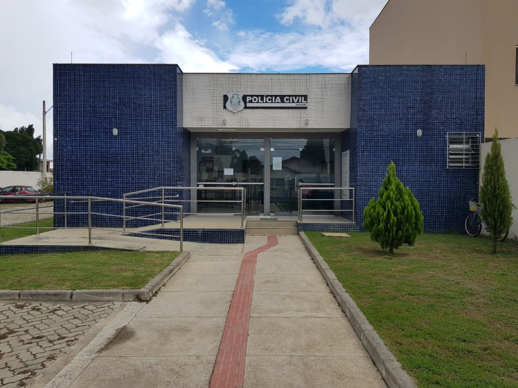 A Delegacia de Jaguaré, no Norte do Estado. Crédito: Divulgação
