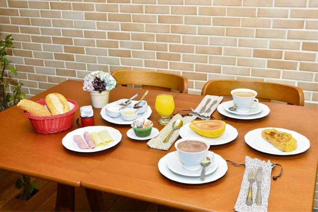 Café da manhã. Crédito: Guilherme Ferrari