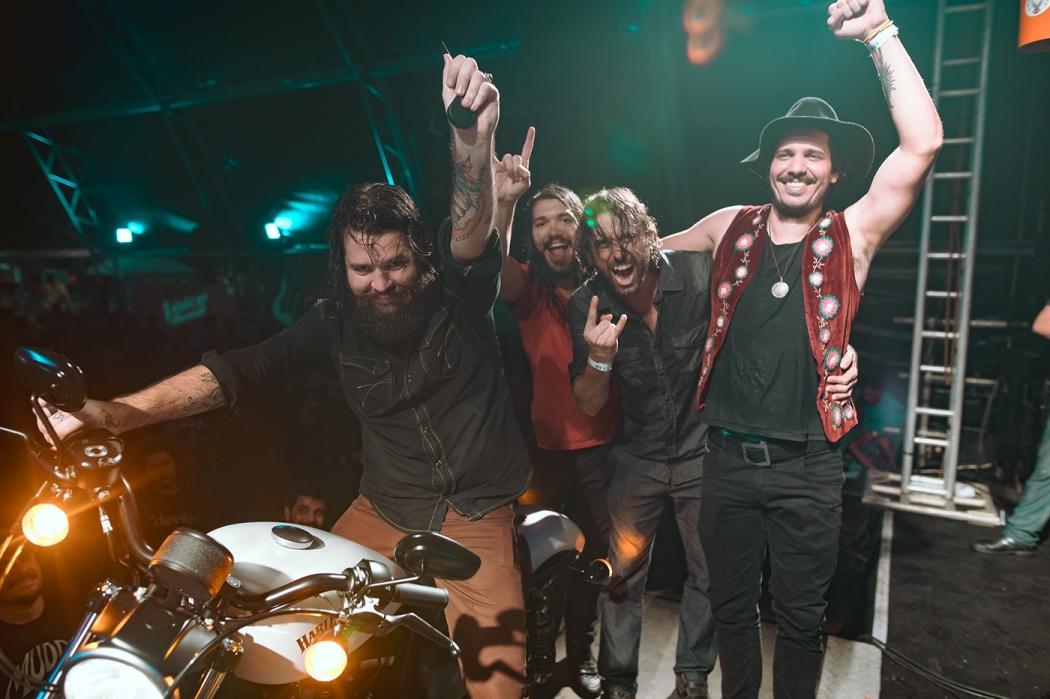 Muddy Brothers venceu o 1º Festival de Rock. Crédito: Ciro Trigo