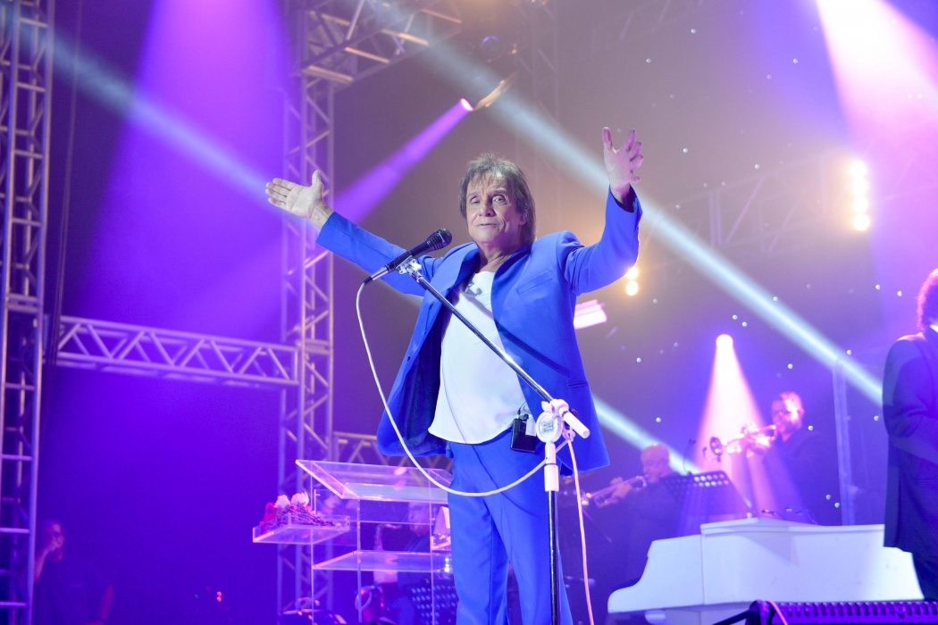 Roberto Carlos em Vitória. Crédito: Mônica Zorzanelli