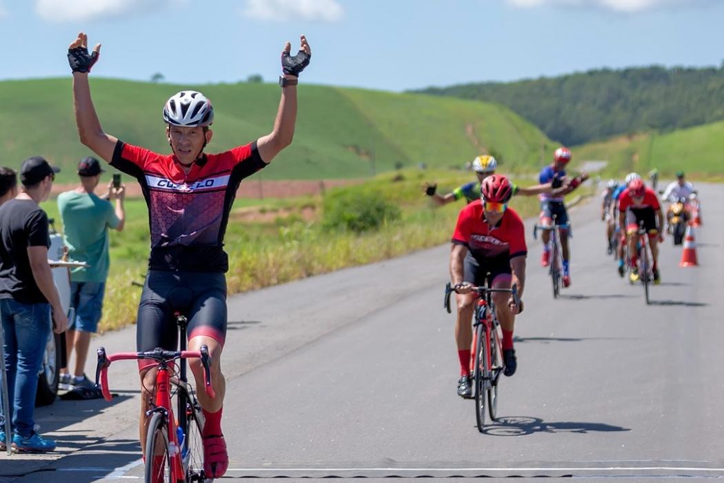 Alexandre é um dos principais ciclistas do Espírito Santo. Crédito: Elias Silva