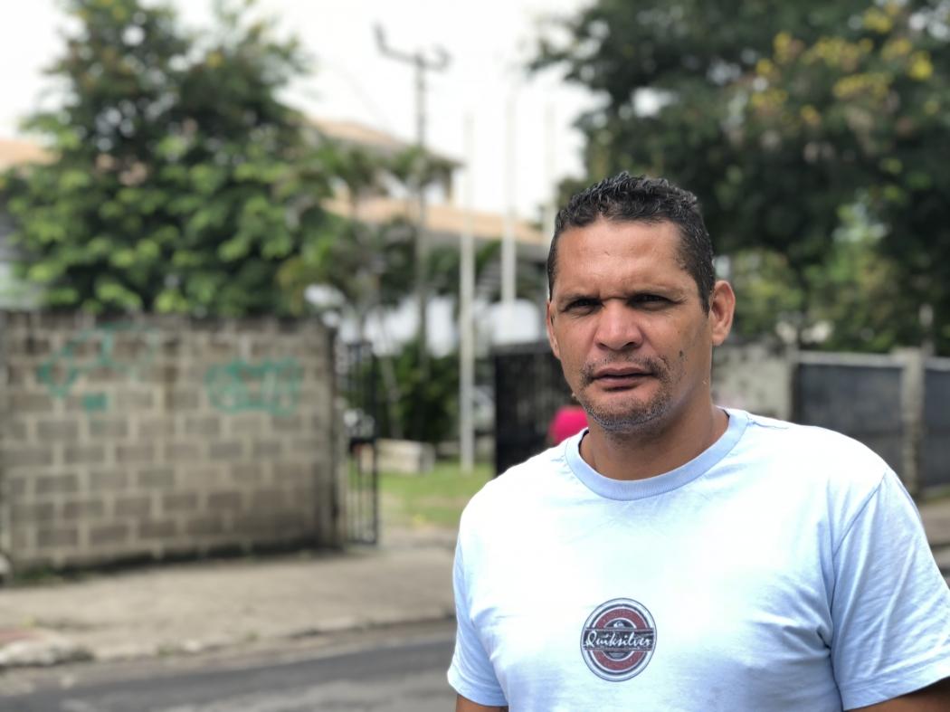 Francisnaldo Rodrigues. Crédito: Pedro Permuy