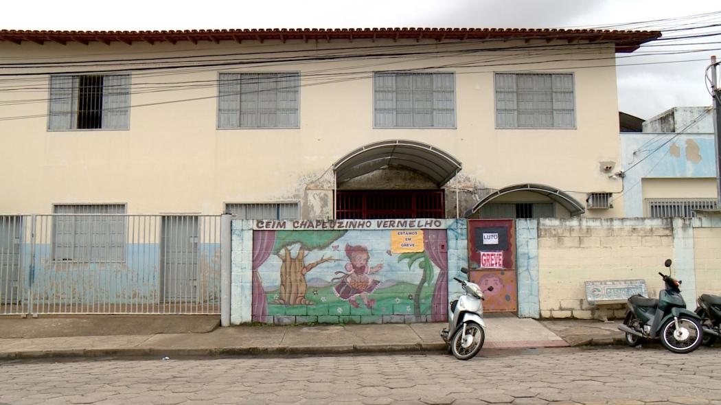Creche Chapeuzinho Vermelho, onde Joaquim Alves estudava. Crédito: TV Gazeta