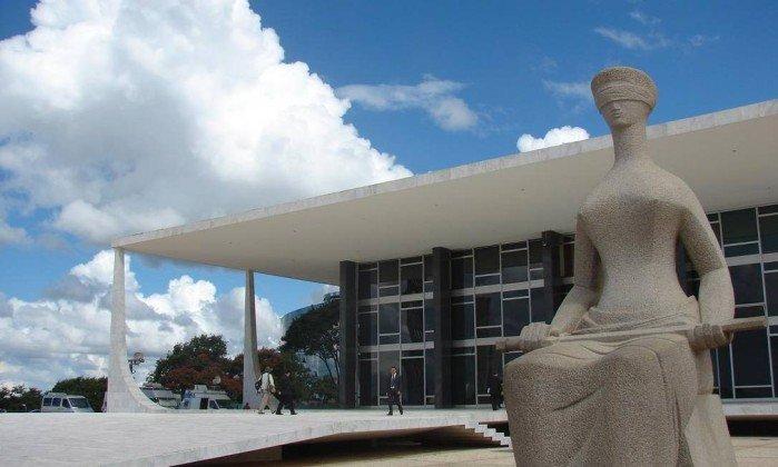 Prédio do Supremo Tribunal Federal (STF), em Brasília . Crédito: Divulgação / STF