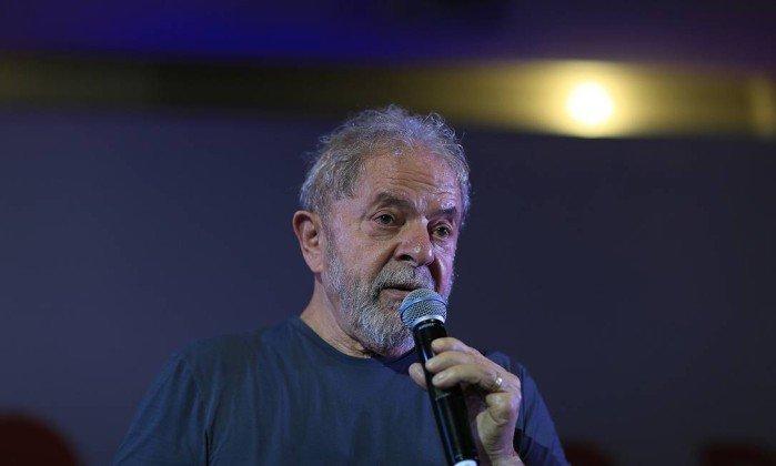 O ex-presidente Lula . Crédito: Edilson Dantas/Agência O Globo