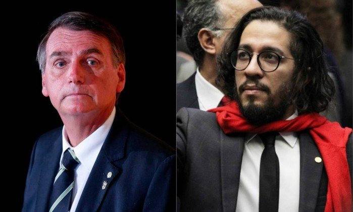 Os deputados federais Jair Bolsonaro (PSC-RJ) e Jean Wyllys (PSOL-RJ). Crédito: Montagem sobre fotos de Marcos Alves e Jorge William
