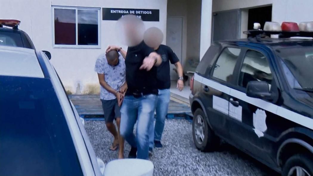 Pastor George Alves foi preso na manhã de sábado, 28 de abril, em Linhares. Crédito: Frideberto Viega | TV GAzeta