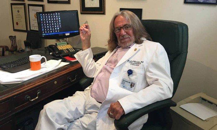 Nota a declarar saúde de Trump como