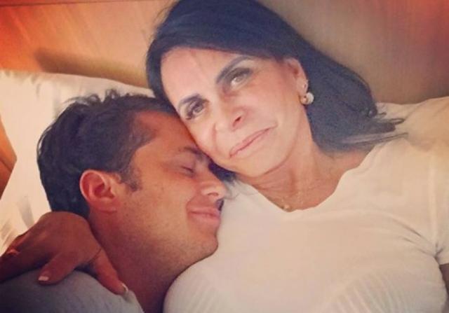 Thammy Miranda ao lado de sua mãe, Gretche. Crédito:  Instagram / @thammymiranda