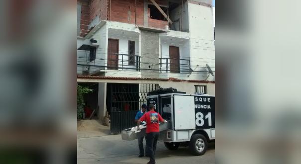 O acidente aconteceu no bairro Honório Fraga, em Colatina. Crédito: Mayara Mello