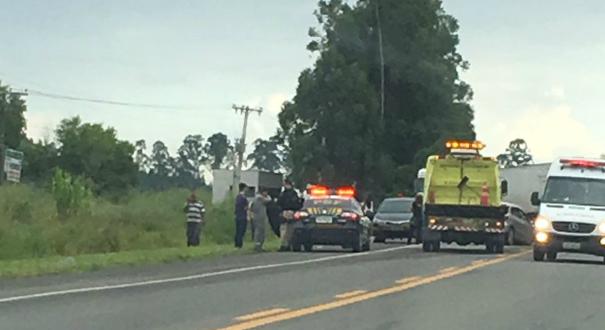 O acidente aconteceu no quilômetro 165, na altura de Jacupemba. Crédito: Morena Sossai