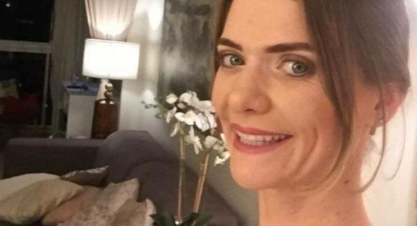 Simone Venturini Tonani foi atingida um vergalhão