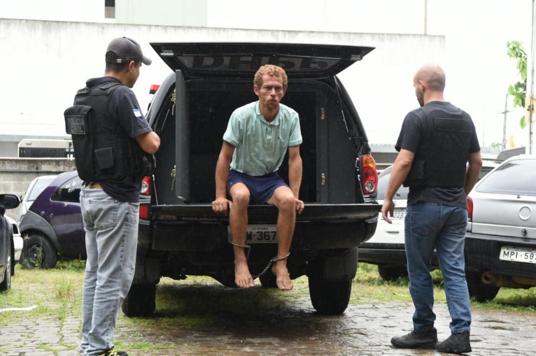 Felipe, que era morador de rua, foi preso em Vila Velha. Crédito: Carlos Alberto Silva