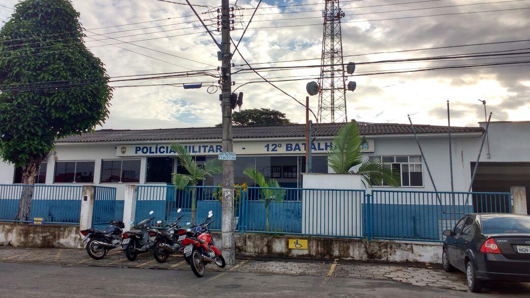 Batalhão da Polícia Militar em Linhares. Crédito: Samira Ferreira   Gazeta Online