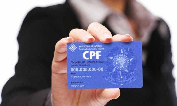 Órgãos federais aceitam CPF como identificação geral para serviços e benefícios no país. Crédito: Divulgação