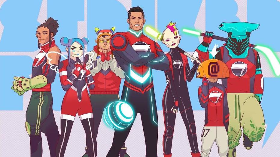 Striker Force 7 - Cristiano Ronaldo lançará desenho animado de Super-heróis!