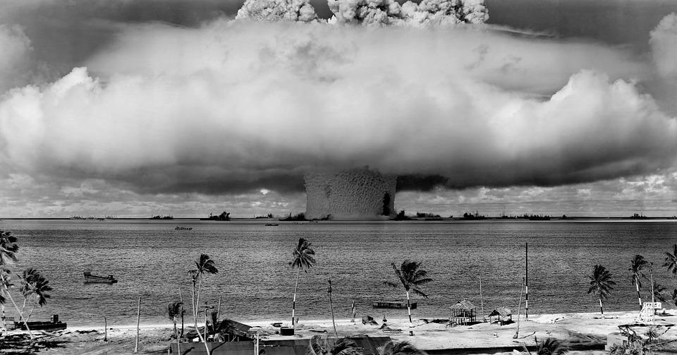 Bomba nuclear. Crédito: Reprodução/Pixabay