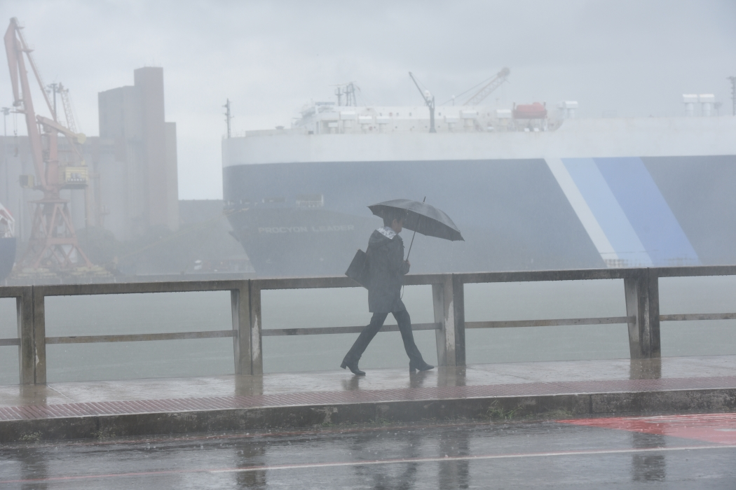 Frente fria deixa o clima instável no ES. Crédito:  Carlos Alberto Silva - GZ